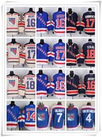 avery hockey - New York Ice Hockey Rangers Jerseys GRESCHENR GILBERT SHANAHAN AVERY DUBINSKY17 STAAL drop shopping freeshipping