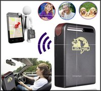 Wholesale free DHL Car GPS Tracker GPS GSM TK102 Personal GPS Tracker With Shock Sensor Alarm Function Flash Memory Card Slot