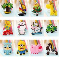 Wholesale colorful Creative cute cartoon stereoscopic Zaojiao sticker for decoration fridge and furniture the minimum quantity