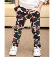 autumn leaves design - new arrival fashion children s clothing boys pants blending Camouflage Leaves design casual trousers cm cm