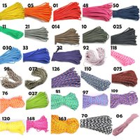 Wholesale New Paracord Paracord FT M Parachute Cord Lanyard Rope Mil Spec Strand Climbing Camping Survival Equipment