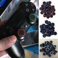 achat en gros de contrôleur ps4 couvercle du boîtier-Contrôleur Analog Grips Thumbstick Cover cas pour PS4 / PS3 / Xbox 360 Thumb Stick cap Xbox accessoires de remplacement 4pcs / lot