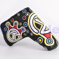 Wholesale Black Jackpot Johnny For Tour Use Only Circle T Scotty Custom Shop Golf Putter Head Covers Clubs headcover