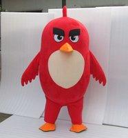 Angry Birds Toons Costume Mascotte pour Halloween Costume de fête de Pâques Animal Cartoon costume Costume Fantaisie Taille Adultes