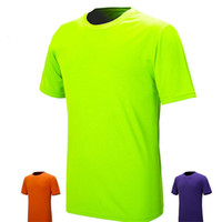 authentic sports apparel - New Men T Shirts Brand Authentic Sports Tees Apparel Women Fitness Jogging TOP Running Short Sleeve Coolmax Quick Dry UV D084