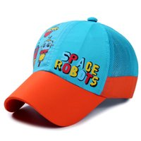 Wholesale New arrivel good quality sports cap outdoor hat summer sunny hats snapacks children caps size free