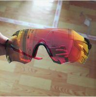 Wholesale 3 Lens Polarized Full revo Radar ev zero Jaw EVZERO Sunglasses For Men Outdoor Sports Sun Glasses Eyewear Goggles Eyeglasses