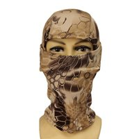 airsoft balaclava - Color Tight Multicam Camo Balaclava Tactical Airsoft Hunting Outdoor Paintball Motorcycle Ski Cycling Protect Full Face Mask