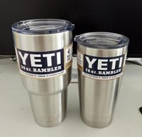best car insulation - Yeti oz Rambler Tumbler Bilayer Stainless Steel Insulation Cup OZ Cups Cars Beer Mug Large Capacity Mug Tumblerful best