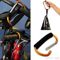 Wholesale Large Carabiner Buggy Shopping Stroller Bag Handle Easy Grab Hook Clip Holder H2010180