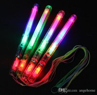 Wholesale inch Color LED Light Sticks Flashing Glow Wand LED Flashing light up wand for Disco Party Wedding Christmas Gift
