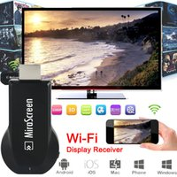 Wholesale New MiraScreen OTA TV Stick Dongle Better Than EZCAST EasyCast Wi Fi Display Receiver DLNA Airplay Miracast Airmirroring Chromecast