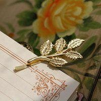 olive tree - Europe and the United States Department of Athena olive branch Sen retro hair beautiful bride headdress hairpin tree leaf child clip golden