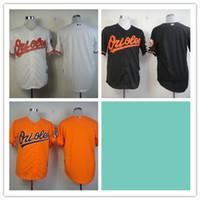 baltimore roads - Mix Order Stitched Baseball Jerseys baltimore orioles Black White orange Cheap Home Road MLB Jersey