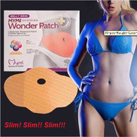Wholesale 5pcs pack MYMI Wonder Slim Patch Slimming Belly Lose Weight Abdomen Fat Burning Patch Slim Mask Hot