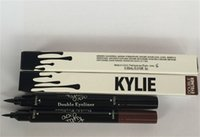 Wholesale Kylie liquid eyeliner Brown and Black in gel eyeliner High quality High Quality Hot