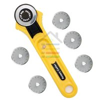 Wholesale High Quality mm Rotary Cutter With More Blades Sewing Quilting Craft Tool Cut off Fabric Paper Vinyl Patchwork Leather order lt no tr
