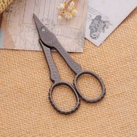 antique sewing supplies - Hi Q Steel Antique Zakka Scissors Fabric Sewing With Dots Sewing Supplies Vintage Short Mouth Tailor s Scissor