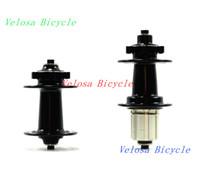 bicycle enduro - Powerway M66 mountain bike hubs bicycle wheel hubs MTB hubs Enduro sealed bearing alloy qr skewers included