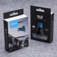 Support de téléphone GKZ K1 Universal voiture pour Iphone Cadre 6 Plus Air Vent Mount Pour Samsung S5 S6 Support de portable GPS