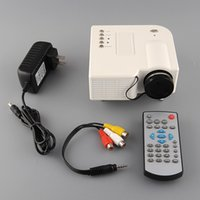 Wholesale Free DHL UNIC UC28 Mini Portable LED D Projector HDMI Home Theater Beamer Multimedia Proyector Full HD P