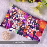 Wholesale Custom Made Oxford Cloth League of Legends School Pencil Bag LOL Children Student Pen Case Stationery Box Girl Gift For Kid