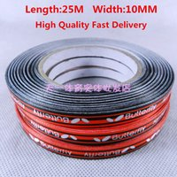 Wholesale High Qulity Fast Delivery Table Tennis Edge Tape Racket edge tape Racket Edging Tape Racket Care stiga DHS yasaka racket rubber