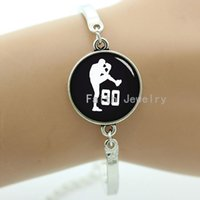 baseball teams pictures - Handmade casual sporty series jewelry baseball bracelet baseball silhouette picture gifts for ball fans team