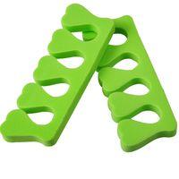 Wholesale 200pcs EVA Nail Tools Soft foam Toe Finger Separator Toe separator
