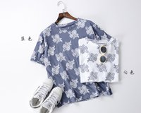 batwing dress pattern - Spring and summer dress new personality pattern printing thin short sleeve T shirt
