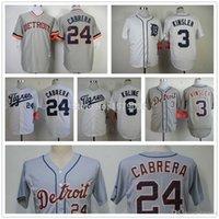 al base - 2015 New New Detroit Tigers jersey authentic Miguel Cabrera Jersey baseball Alan Trammell Jerseys cool base Al Kaline jersey