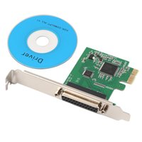Wholesale New DB25 Pin Printer Parallel IEEE to PCI E Controller Card Adapter