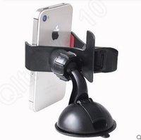 Cheap LLA225 Iphone Car Windshield Sucker Mount Mobile Phone Bracket Holder Universal Rotate 360 Degree Bracket Stand 100PCS
