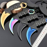 Wholesale Scorpion knife models double action optional Hunting Folding Pocket Knife Survival Knife Xmas gift for men freeshipping