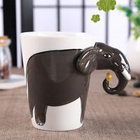 africa coffee - Animal Creative D Art Porcelain Mug Hand painted Zoo Ceramic Coffee Cup Africa Style