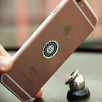 Wholesale 360 Degree Rotation Car Holder iPhone GPS MP3 Mini Phone Mount Stand Holder with Magnet for Dashboard