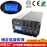Wholesale DC to AC Converter Car inverters AC Adapter Power Supply Car Inverters Pure Sine Wave W Power Inverter