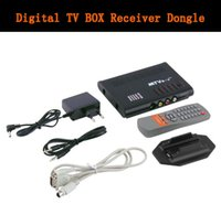 Wholesale universal LCD TV Box Computer TO PC VGA S Video Analog TV Program Receiver Tuner Dongle LCD Monitor PAL NTSC SECAM
