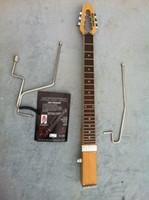 amp body - MiniStar JazzStar Jazz Travel Guitar Built in Headphone Amp electric guitar