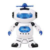 Wholesale intelligent degree rotating dance robot space robot