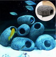aquarium fish cichlid - Aquarium Cichlid Stones Ceramic Rock Cave Ornament Cichlid Stones Fish Tank Cichlid Stones Decoration