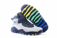 band city - 2016 cheap air Retro Charlotte Hornets blue men basketball shoes sports City Pack CHI Chicago Flag shoes euro