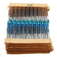 Wholesale FreeShipping Values R MR W Metal Film Resistors Assorted Kit Set