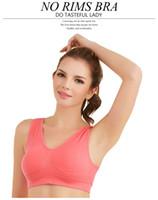 Wholesale Seamless Bra Microfiber Pullover Bra Body Shape Sport Bra
