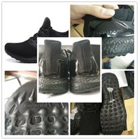 Wholesale 2016 Hot Sale Pirate Black Mens High Quality Kanye West Boots Ultra Boost Shoes Mens Tennis Traning Shoes