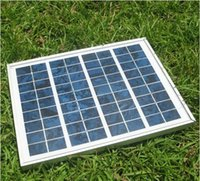 Wholesale 100 Polycrystalline photovoltaic solar panel W solar panel solar module V V battery charging