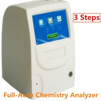 auto chemistry - 3 step Full Auto Chemstry Analyzer CE Chemistry Analyzer ISO Analyzer machine Full auto advanced chemistry device Unique software