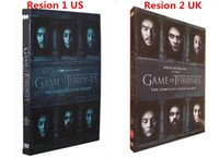 Wholesale 2016 Hot sale dvds Game of thrones Season DVD US UK Exclusive Version Factory Price free DHL