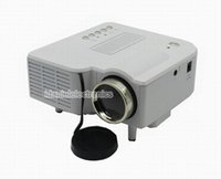 Wholesale UNIC UC28 Mini Projector With HDMI VGA Portable HD LED Projector Cinema Theater Projector VGA USB SD AV input x