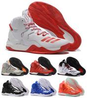 best orange rose - Best price Men s D Basketball Shoes Boots VII Blue Christmas Sneakers Derrick Rose Sports Cheap Sneaker